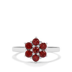 1.03ct Nampula Garnet Sterling Silver Ring