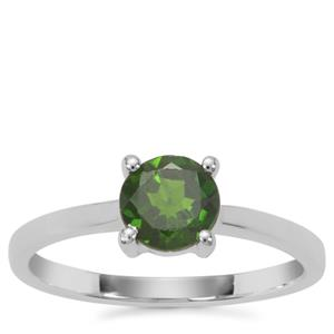 Chrome Diopside Ring in Sterling Silver 0.86ct