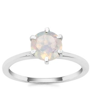 Ethiopian Opal Ring in Sterling Silver 0.85ct