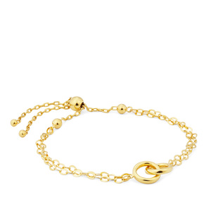 Bracelet  in Gold Plated Sterling Silver