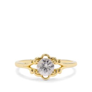 0.89ct Singida Tanzanian Zircon 9K Gold Ring