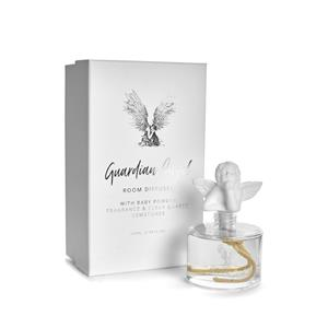 Gem Auras Guardian Angel Room Diffuser with Clear Quartz Gemstones 30cts