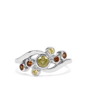 Ambilobe & Morafeno Sphene Sterling Silver Ring ATGW 0.76cts