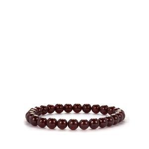 Star Garnet Elastic Bracelet 105cts