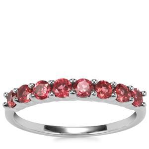 Rajasthan Garnet Ring in Sterling Silver 0.84ct