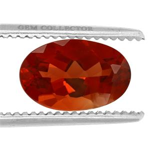 Tarocco Red Andesine GC loose stone  2.35cts