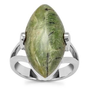 Chemin Opal Ring in Sterling Silver 9cts (F)