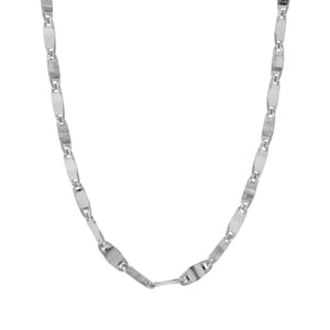 "22"" Sterling Silver Couture Forzentina Lastra Chain 3.93g"