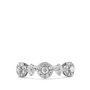 1/2ct Canadian Diamond Platinum 950 Tomas Rae Ring
