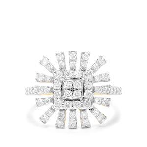 1ct Canadian Diamond 9K Gold Tomas Rae Ring