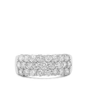 1.95ct Diamond 9K White Gold Tomas Rae Ring