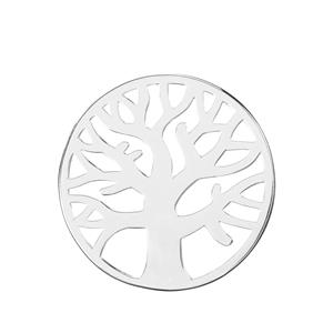 Tree Of Life Sterling Silver Disc 4.71g