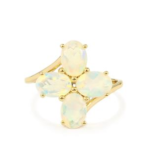 Ethiopian Opal Ring in 9K Gold 1.89cts
