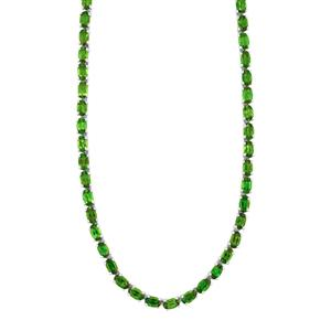 Chrome Diopside Necklace in Sterling Silver 17.88cts