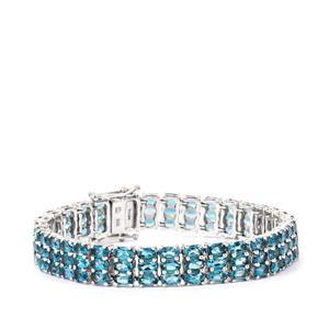 Marambaia London Blue Topaz Bracelet in Sterling Silver 29.15cts