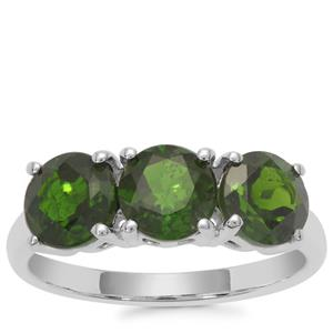Chrome Diopside Ring in Sterling Silver 2.72cts