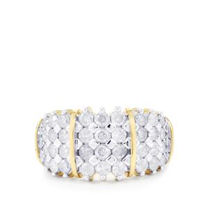 Diamond Ring in 10k Gold 1.50ct