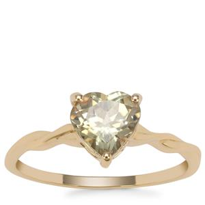 Csarite® Heart Ring in 9K Gold 1.26cts