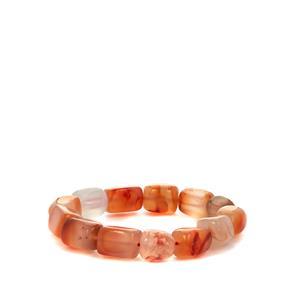 Carnelian Stretchable Bracelet 280cts