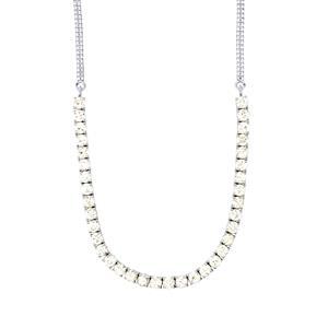24.28ct Singida Tanzanian Zircon Sterling Silver Necklace