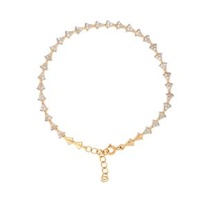 3/4ct Diamond Bracelet  in Gold Plated Sterling Silver