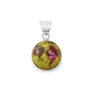 16ct Stichtite Sterling Silver Aryonna Pendant