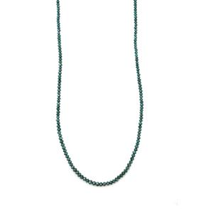 Blue Diamond Necklace in Sterling Silver 15.90ct