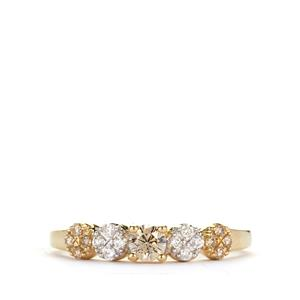 1/3ct Argyle Diamond 9K Gold Ring
