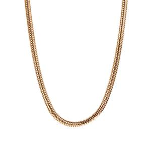 """17"""" - 19"""" Gold Tone Sterling Silver Kama Charms Necklace 21.70g"""