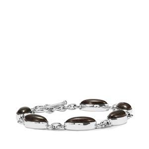 Andamooka Opal Bracelet in Sterling Silver 19.20cts