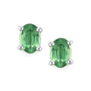 1.96ct Odisha Kyanite Sterling Silver Earrings