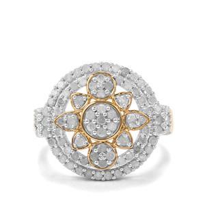 1ct Diamond Midas Ring