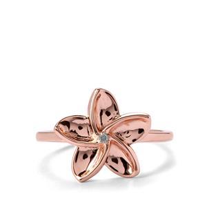 Diamond Rose Midas Ring