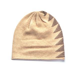 Mongolian Cashmere Ladies Jacquard Hat