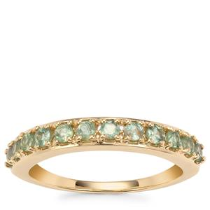 Alexandrite Ring in 9K Gold 0.65cts