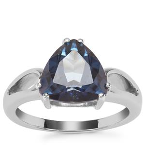 Hope Topaz Ring in Sterling Silver 4cts