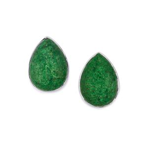 10.73ct Maw Sit Sit Sterling Silver Aryonna Earrings