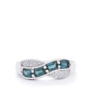1.34ct Orissa Kyanite Sterling Silver Ring