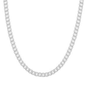 "18"" Sterling Silver Classico Curb Chain 5.76g"