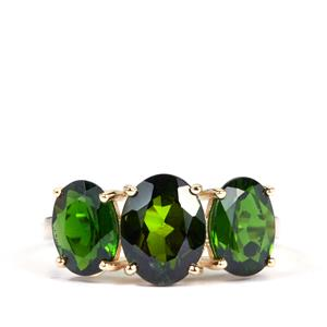 Chrome Diopside Ring in 9K Gold 4.59cts