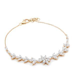 Diamond Bracelet in 18K Gold 2.45cts