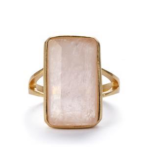 8.21ct Morganite Sterling Silver Sarah Bennett Ring