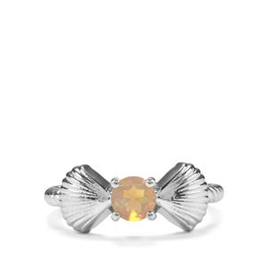 0.28ct Ethiopian Opal Sterling Silver Ring
