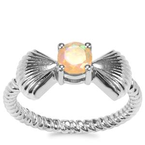 Ethiopian Opal Ring in Sterling Silver 0.28ct