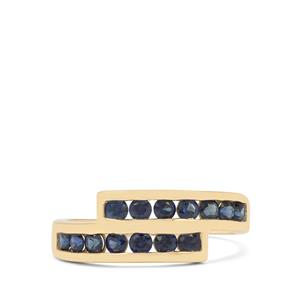 Australian Blue Sapphire Ring in 9K Gold 1.10cts