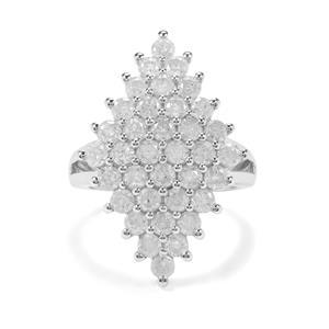 2.95ct Diamond 9K White Gold Tomas Rae Ring