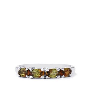 0.91ct Gouveia Andalusite Sterling Silver Ring