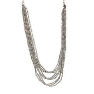 82.15ct Labradorite Sterling Silver Necklace