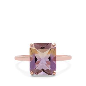 Anahi Ametrine Ring in 9K Rose Gold 3.65cts