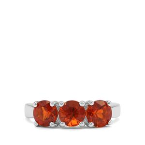 2.10ct Madeira Citrine Sterling Silver Ring